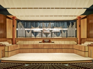 The Royal Festival Hall and its 8,000 pipe organ